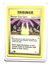 Cinnabar City Gym 113//132 Gym Challenge Pokemon Card Excellent Cond #