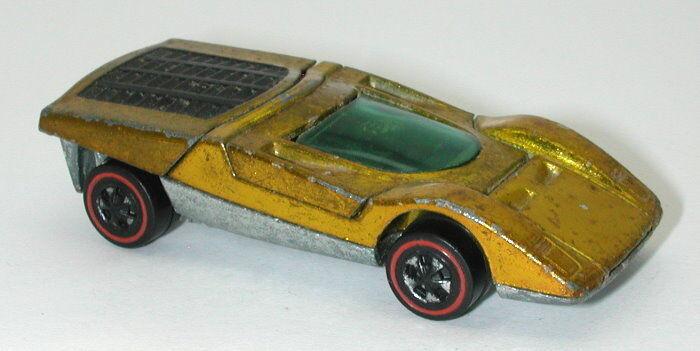 Redline Hotwheels gold 1972 Ferrari 512S oc14552