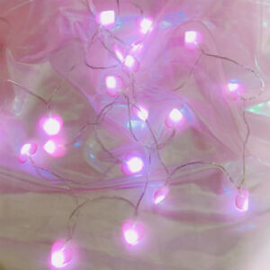 image is loading 20leds fairy string lights romantic heart shaped led
