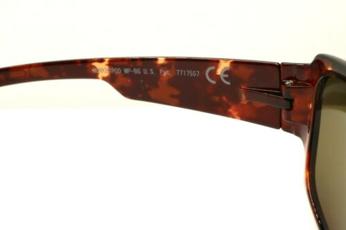 Details about  /Maui Jim MonkeyPod MJ 441-10 Wrap Tortoise Sunglasses Brown Polarized Lenses