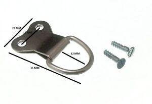 Cadre-Photo-Suspendu-D-Bague-Double-Np-Nickel-Plaque-amp-Vis-Paquet-de-200