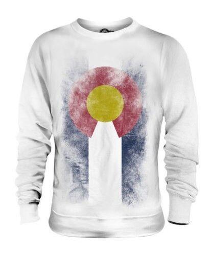 Farbeado État Décoloré Drapeau Unisexe Pull Farbeadan T-Shirt Jersey Cadeau