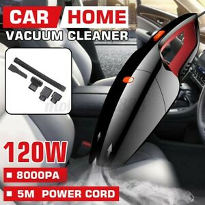 8000PA Car Vacuum Cleaner Handheld Rechargeable Portable Mini For Home Wet