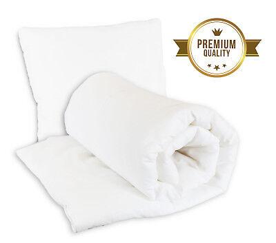 2019 Nieuwste Ontwerp Anti Allergy Baby Duvet Pillow Filled Quilt Bedding Crib 120x90 135x100 Cot Grondstoffen Zijn Zonder Beperking Beschikbaar