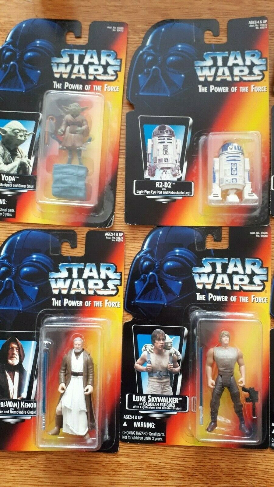 Star Wars Power of The Force Lot (Mostly NIB, Some Some Some Loose in Mint Condition) 7ac232