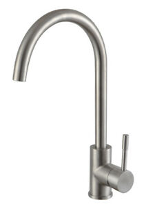 Pure-Stainless-Steel-Brushed-Kitchen-Sink-Mono-Swivel-Single-Lever-Mixer-Tap