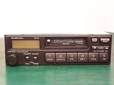 95-03 SUBARU LEGACY FORESTER IMPREZA TAPE AM//FM Radio P119 86201AE06A
