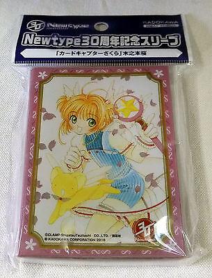 67 x 92mm 60 Newtype 30th Anniversary Sleeve Cardcaptor Sakura Kinomoto Pack