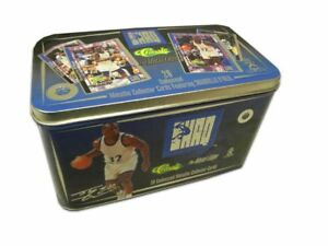 Classic-The-Metal-Edge-SHAQ-Factory-Sealed-Tin-Set-Shaquille-O-039-Neal