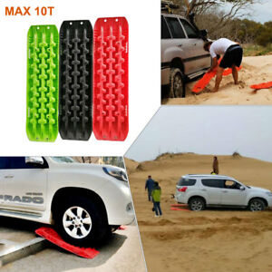 Recovery Traction Tracks Black Off Road Sand Snow Track Tire Ladder 4WD Off Road
