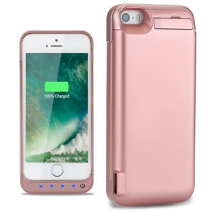 quality design 31958 1febf Details about Brand New For iPhone 5S phone Power Bank External Battery  Charger Case cower
