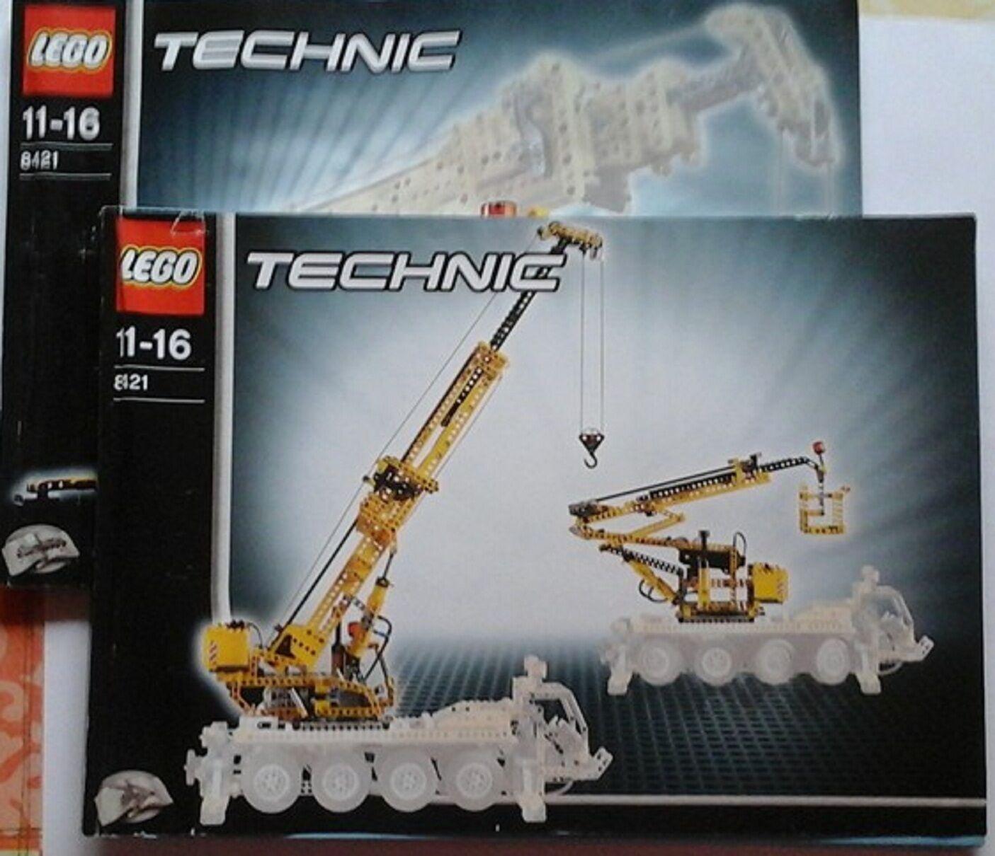 Lego Technic 8421 kranwagen con receta sin motor