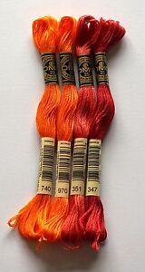 DMC-THREADS-EMBROIDERY-PACK-01-EARTHY-SHADES-740-970-351-347-4-PACK
