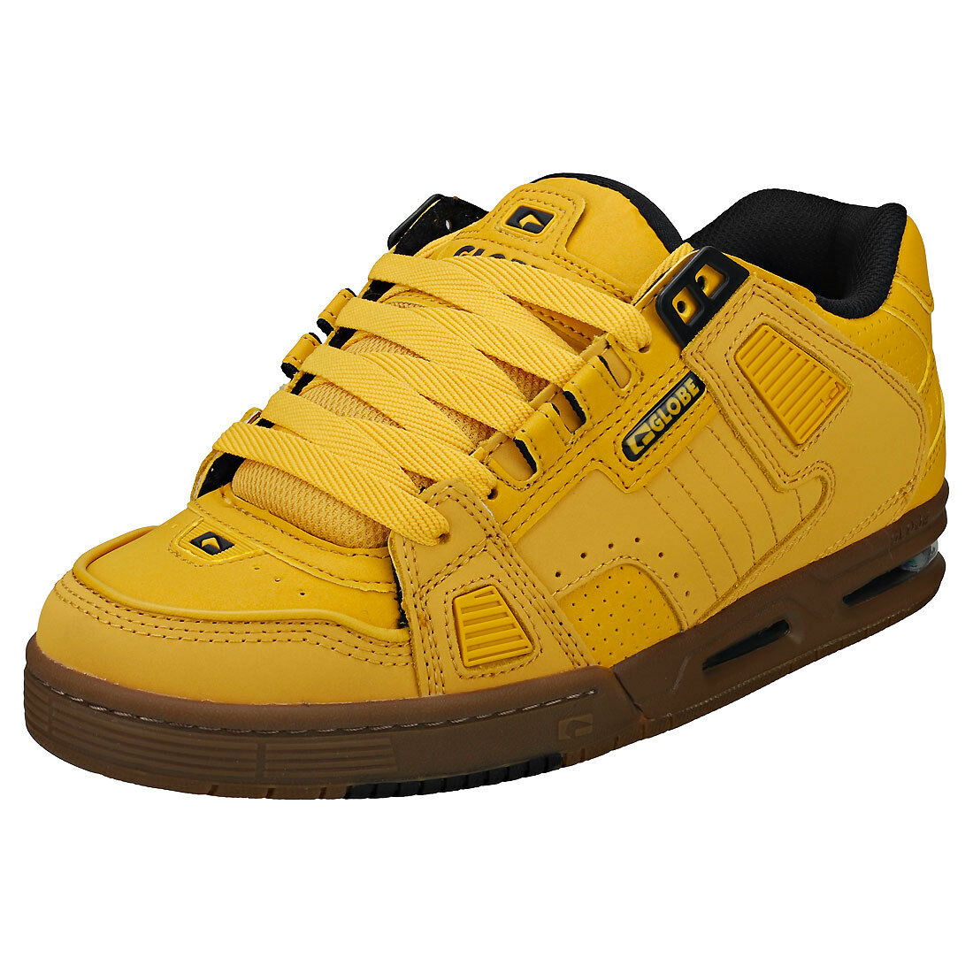 Globe Sabre hommes Wheat Nubuck & Synthetic Trainers - 10 UK