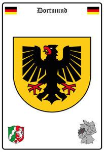 Blechschild 30 X 20 cm Deutschland