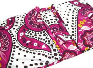 Pottery-Barn-Teen-Multi-Color-Retro-Paisley-Cotton-Full-Queen-Duvet-Cover-New