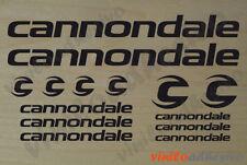 PEGATINA STICKER VINILO Cannondale kit bicicleta bike