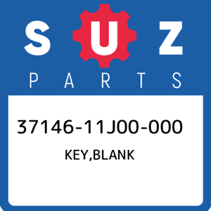 37146-11J00-000-Suzuki-Key-blank-3714611J00000-New-Genuine-OEM-Part