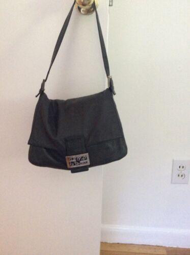 Black vintage FENDI bag Mama baguette
