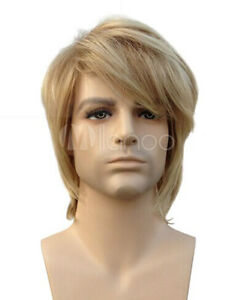 Hot-Sale-Men-Short-Blonde-Straight-Hair-Synthetic-Daily-Cosplay-Party-Full-Wigs
