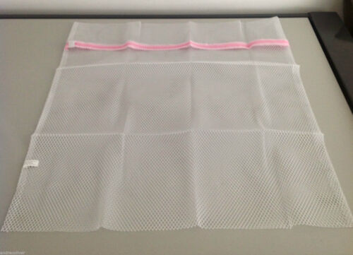 Laundry Mesh Washing Bags Protect Delicate Wash Bag Clothing Large 60X70cm KD