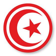 Magnet Aimant Frigo Ø38mm Drapeau Flag Afrique Tunisie Tunisia TN