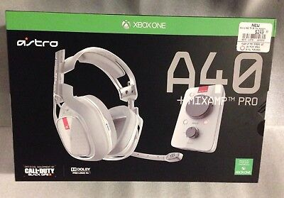 bf3cd522832 Details about ASTRO Gaming A40 TR Headset + MixAmp Pro TR for Xbox One w/  box