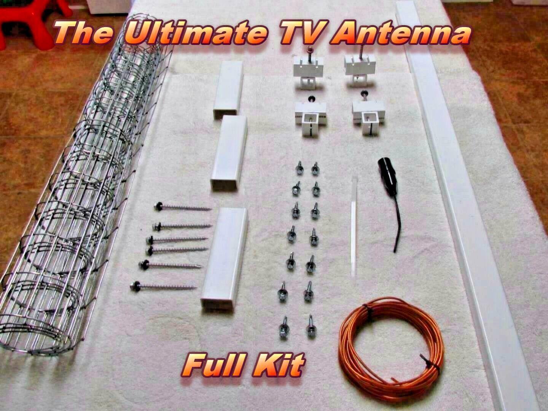 dannyga50 The Ultimate Outdoor HD TV Antenna Full Kit