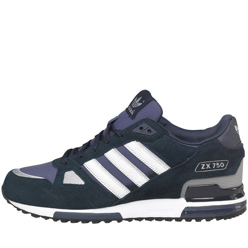Adidas Originals Mens ZX 750 Trainers G40159 UK9.5 OG AQUA 8000 torsion bravo