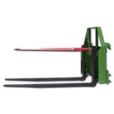 Titan Attachments 48 Pallet Fork Fits John Deere Hay Bale Spear Attachment