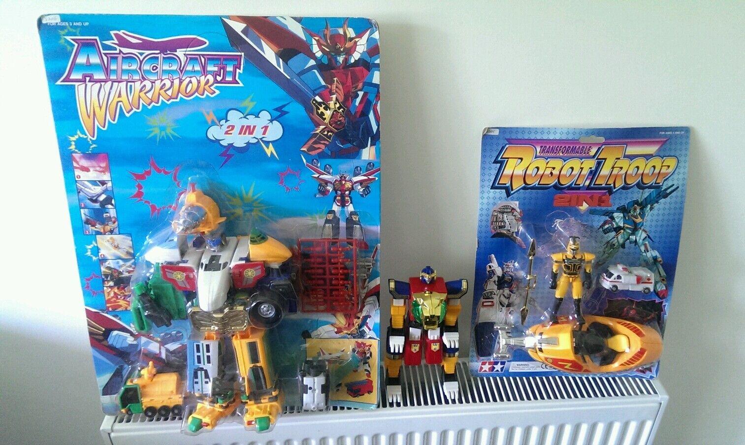 Mighty Morphin power Rangers  Megazord transformers bootlegs