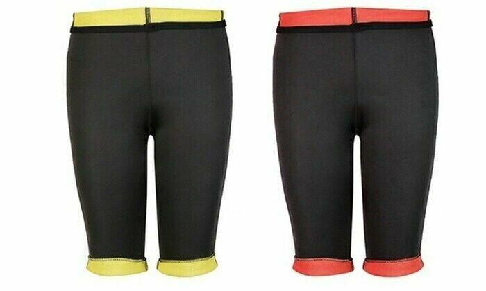 Neoprene Thermo Yoga Capri Exercise Workout Pants