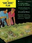 Have More  Plan: A Little Land, a Lot of Living by Ed Robinson, Carolyn Robinson (Paperback, 1977)