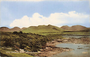 Rare Vintage Posctard The Tweleve Pins, Roundstone, Connermara Ireland Unposted.