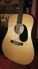 2015 Martin Road Series DRSGT Acoustic Electric Guitar Natural w/ Case Nice!