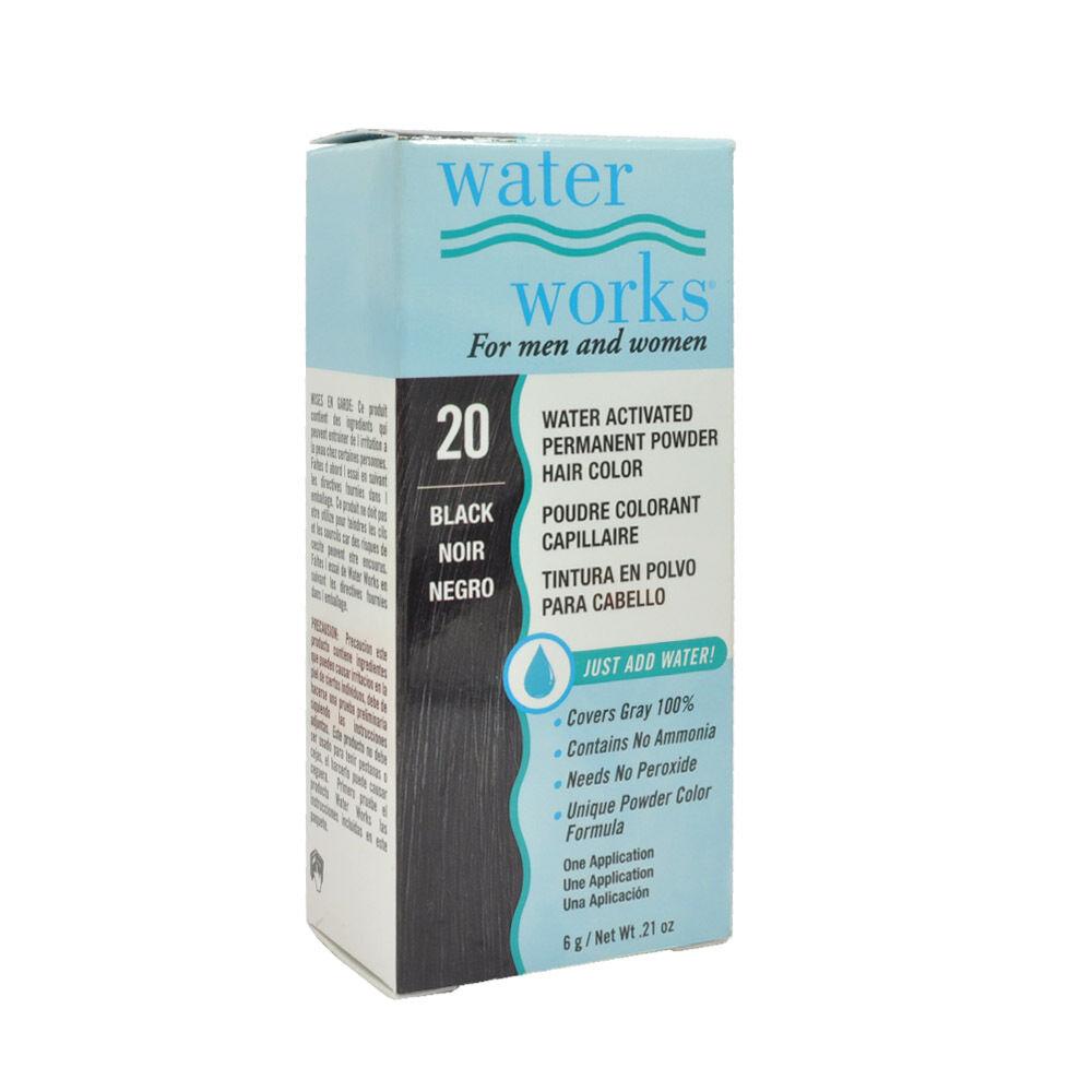 Waterworks Permanent Powder Hair Color Blue Black Ebay