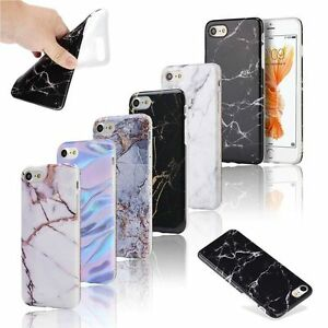 Ultra Slim Marble Pattern Rubber Soft TPU Back Case Cover for iPhone 6 7 7 Plus