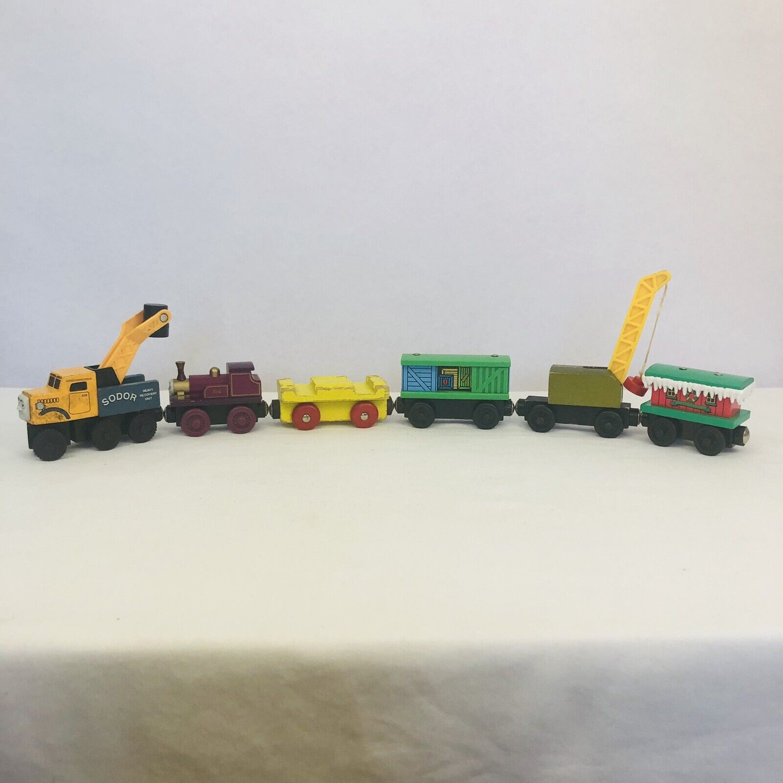 ANNIE & CLARABEL   Flat Magnets   Vintage Early Edition Release Thomas trains