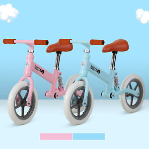 HOMCOM Laufrad mit Stoßdämpfer Kinderrad Lauflernrad Balance Bike 2-5 Jahre