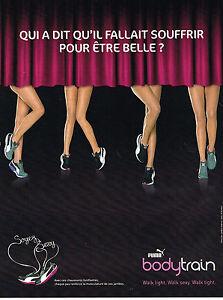 PUBLICITE ADVERTISING 014   2011   PUMA   baskets  BODY TRAIN