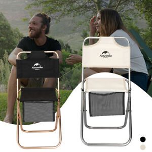 Camping-Outdoor-Seat-Stool-Foldable-Lightweight-Fishing-Hiking-BBQ-Beach-Chair
