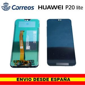 Repuesto-pantalla-completa-para-Huawei-P20-lite-negra-negro-pantalla
