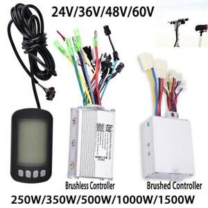 24-60V Brushless Motor Controller with LCD Panel fr E-bike Electric Bike Scooter