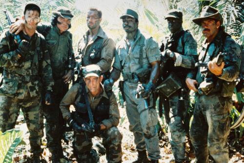 Arnold Schwarzenegger /& Cast Predator 24X36 Poster