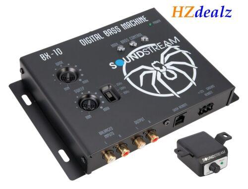 SOUNDSTREAM BX-10 Digital BASS Booster Epicenter BX10 W Remote Bass Knob Control
