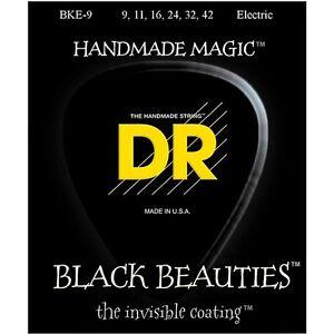 DR-Strings-BKE-9-Black-Beauties-Light-Electric-Guitar-Strings-9-42