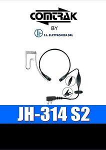 JH-314 S2 MICR. GUTTURALE E AURIC. PNEUMATICO COMPATIBILE MIDLAND E ICOM 333010