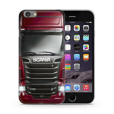 Scania R730 V8  Truck Cabine  Gift  Rubber  Phone Case Cover For iPhone Samsung