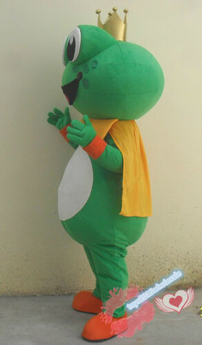 Advertising Cute Frog Mascot Costume Party Game Fancy Dress Adults Xmas Outfits