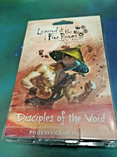 Legend of the Five Rings LCG Disciples of the Void Phoenix Clan Pack